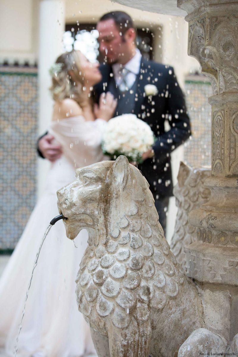 Matrimonio in Rocchetta, lancio del riso